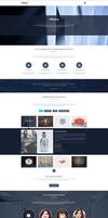 Freebie - Artica PSD Web Template by GraphBerry