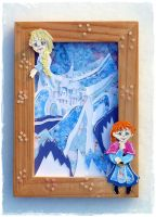 Frozen Shadow Box by Artistically-DE