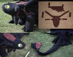 Toothless Accessories by TwilightMoth