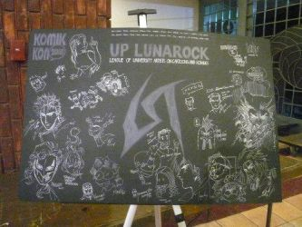 pinoy artists sign up board by ikotron