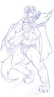 Doodle - Huo Mao by ronso