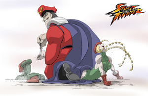Bison Tickle Tortures Cammy by PawFeather
