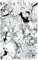 TEEN TITANS #89 - Incredible FULL-PG SPLASH Sold by DRHazlewood