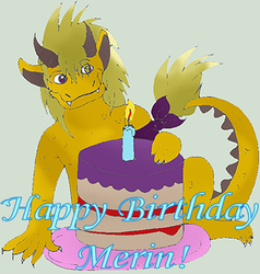Happy Birthday Merlin! by Shauni-chan