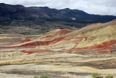 Painted Hills 5 by GreenEyezz-stock
