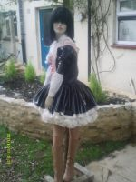 PVC Beer Maiden Dress by puncturegown