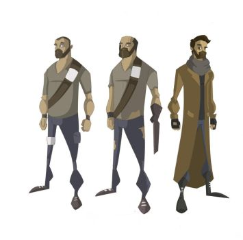 character designs by Jambo86