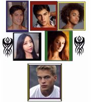 Power Rangers Rogue Blood Characters in real life by Eddmspy