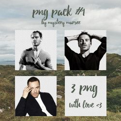 Michael Fassbender png. Pack 1 by Mystery-Marsee