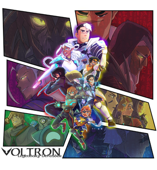 DUNGEONS AND VOLTRON!! - Let's Voltron Podcast by KP-Lionheart