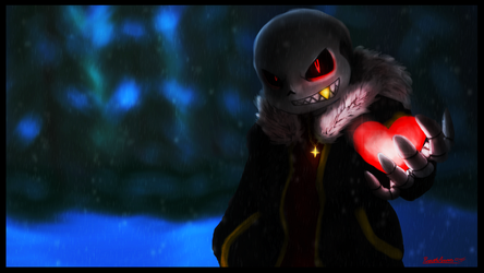 Underfell Sans *New* by PineappleAnanas