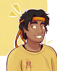 HAPPY BIRTHDAY HUNK!!!!! by waraiigoe