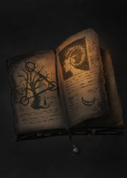 086 the Tome of Saran the Black by MarkWester