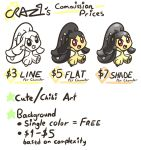 CRAZ1's Commission Prices by CRAZ1