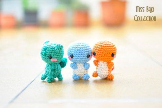 Pokemon Starters by MissBajoCollection