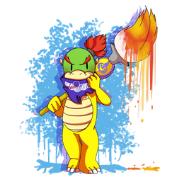 SHADOW BOWSER JR by butterdcreamcake