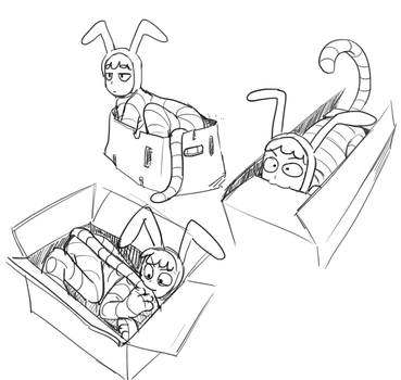 Popee In A Box by taco-Turtle