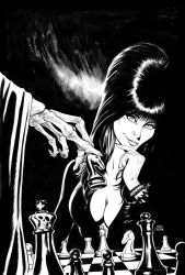 Elvira, Mistress of the Dark cover #6 by craigcermak