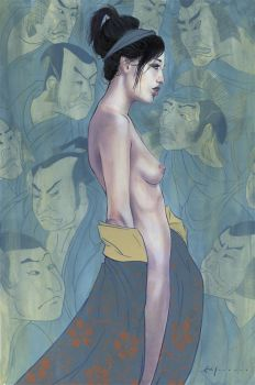 Ghost and the Geisha by theirison