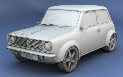 Mini 1275 GT by jj-maxer