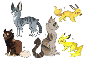 Misc adoptables | OTA | CLOSED by DaisiesAdopts