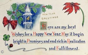 Cordial New Year's Greetings by Yesterdays-Paper