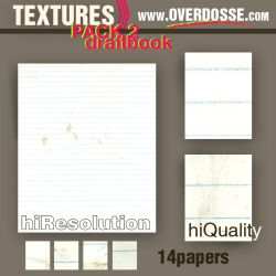 Textures: Draftbook Paper by overdosse