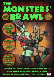 THE MONSTER'S BRAWL-COVER by DARK-MOOK