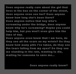 dose any one know by l0st-g1rl
