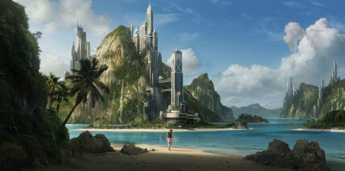 Tropical City by dylancole
