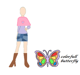 Colorfull Butterfly Autum Love Corde by Lizzyvh