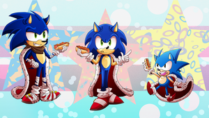 Sonic 26th Anniversary by Shipper-Ships