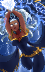 Storm X-men by Kawa-V