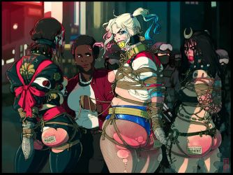 Silenced Suicide Squad by ElijahPink