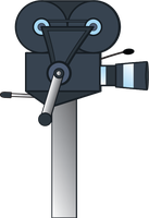 Old hand-crank camcorder (MLP style) 2 by Evilbob0