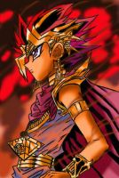 Atem's Hell Fire by CharlotteSketches
