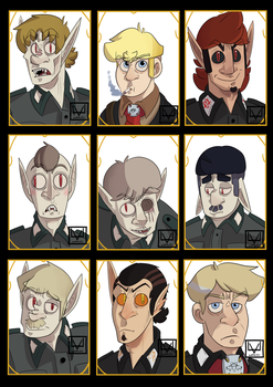 Charactercards by supaluilu
