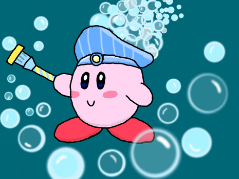 KCAC #8: Bubble Kirby by LunaClefairy