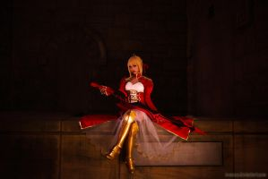 Fate Extra : Red Saber - 2 by ImMuze