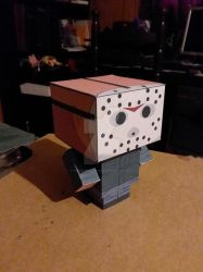 Jason Voorhees Part 3 CubeeCraft by SuperVegeta71290