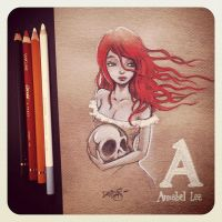 A is for Annabel Lee by Disezno