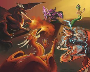 League of Dragons by Zyleeth