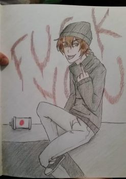 Offensive Contest Entry OC- Lee by will-of-fire23