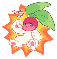 TURNIP BOY! (CLOSED) by Ponkochi