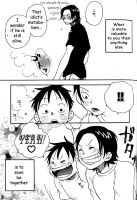 ace and luffy comic pt 11 by Kairiwolf14