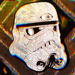 Storm Trooper Pin by MintyFreshThoughts