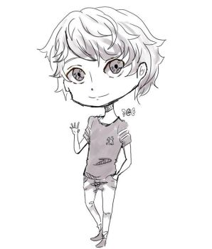 chibi practice (sketch) by Ciear