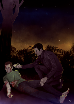 Teen Wolf FanArt: The night time by NinaKask