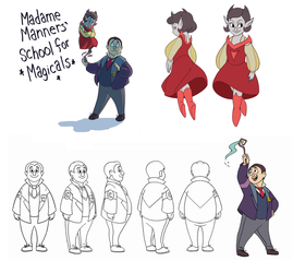 MMSfM Character Concept by JesnCin