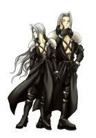 If sephiroth was a woman by cwutieangel